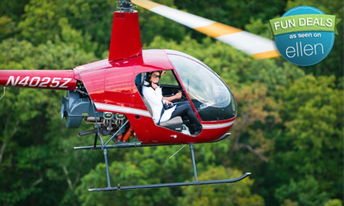 Heli Flights - Lincoln Park: $99 for a Private Helicopter Flight Lesson from Heli Flights in Lincoln Park ($200 Value)
