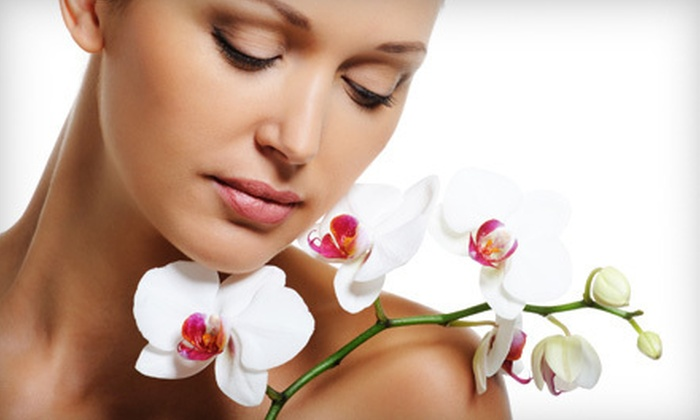 Renew Medical Spa - Summerlin: One or Two Microcurrent Oxygen-Infused Skin-Tightening Facials at Renew Medical Spa (Up to 78% Off)