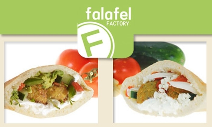 Falafel Factory - Philadelphia: $5 for $10 Worth of Falafels at Falafel Factory
