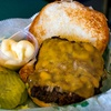 $7 for Gator Burgers at Albert's Grill in Columbia Heights
