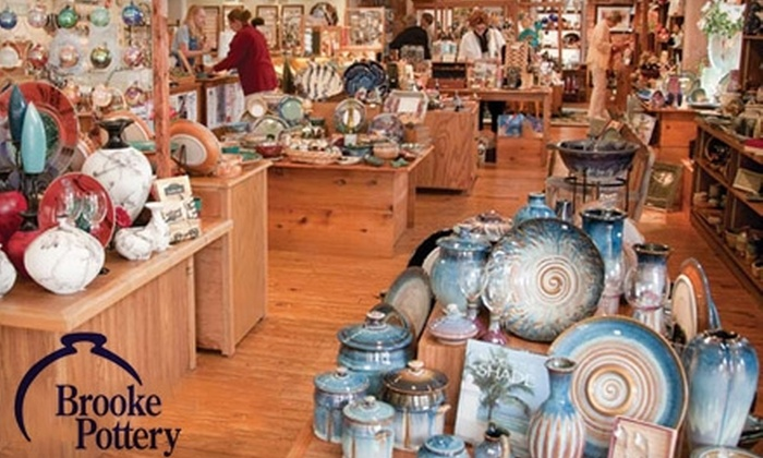 Brooke Pottery - Downtown: $15 for $30 Worth of Pottery, Gifts, and Jewelry at Brooke Pottery