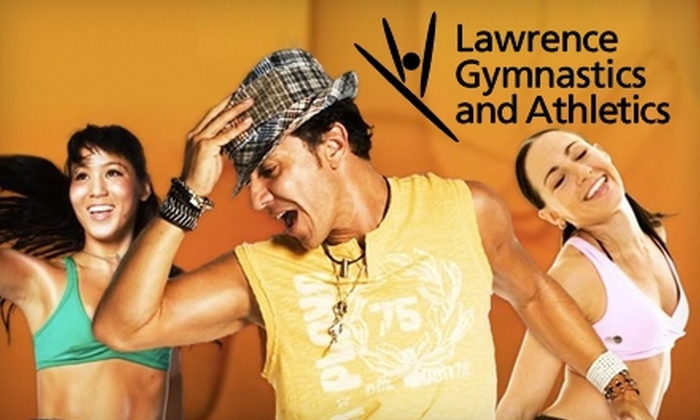 Lawrence Gymnastics & Athletics - Topeka / Lawrence: $25 for a Month of Unlimited Adult Zumba Classes at Lawrence Gymnastics and Athletics (Up to $81 Value)