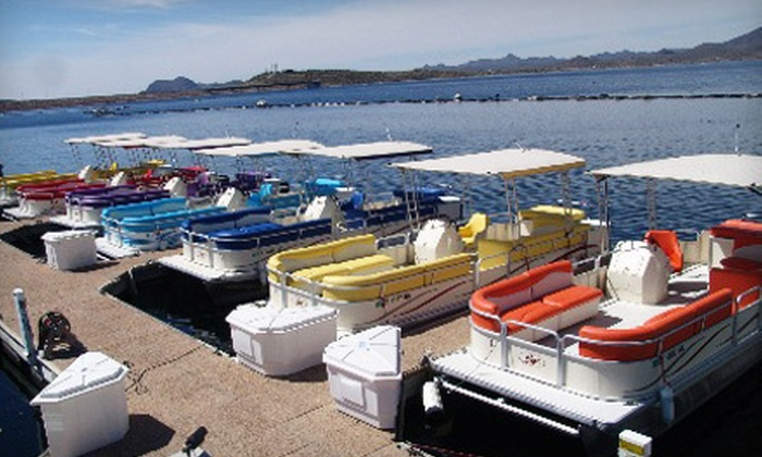 Lake Pleasant Watercraft Rentals - Peoria: Two-Hour Lake Pleasant Boat Tour for Two or Four from Lake Pleasant Watercraft Rentals in Peoria (Up to 59% Off)