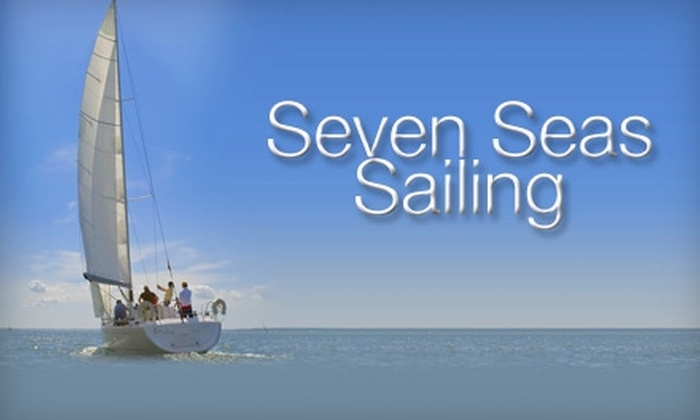 Seven Seas Sailing of Buffalo - Tifft: $79 for Two Hours of Sailing for Two People from Seven Seas Sailing of Buffalo (Up to $250 Value)