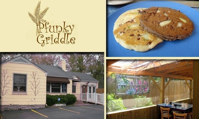 The Pfunky Griddle - Berry Hill: $15 for $30 Worth of Creative Pancakes and Sandwiches at The Pfunky Griddle