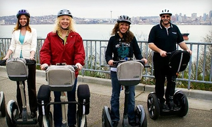 West Coast Entertainment - Multiple Locations: Segway Tours of Seattle from West Coast Entertainment. Two Options Available.