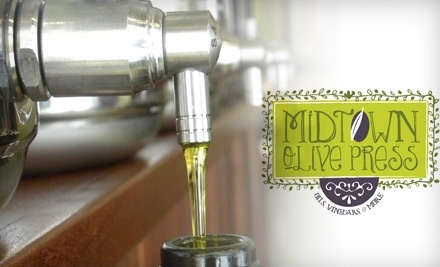 $20 Groupon to Midtown Olive Press - Midtown Olive Press in Raleigh