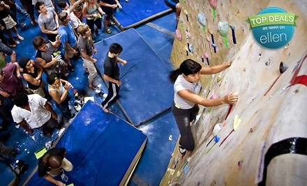 Diablo Rock Gym at 1220 Diamond Way in Concord: 3-Day Climbing Package - Touchstone Climbing in Concord