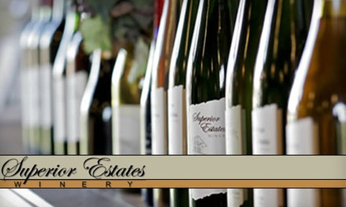 Superior Estates Winery - Superior: $40 for a Wine Tasting and Tour Package for Two at Superior Estates Winery in Superior ($80 Value)