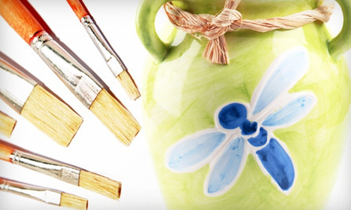 Artistic Gatherings - Dallas: Adult Art Workshop or $15 for $30 Worth of Pottery Painting at Artistic Gatherings