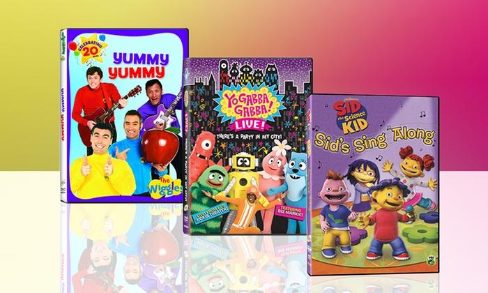 Kids' Sing-Along 3-DVD Bundle: Kids' Sing-Along 3-DVD Bundle. Free Returns.