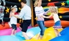 Jump!Zone - Smith Estates: 6 or 12 60-Minute Sessions of JZ Fit for Parents and Open Play for Kids at Jump!Zone (Up to 61% Off)