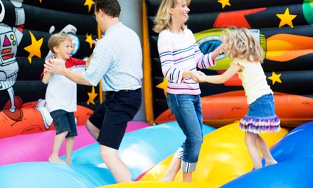 6 or 12 60-Minute Sessions of JZ Fit for Parents and Open Play for Kids at Jump!Zone (Up to 61% Off)