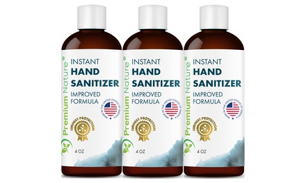 Instant Hand Sanitizer Gel with Aloe Vera - 65% Ethyl Alcohol (Multi-Options Available)