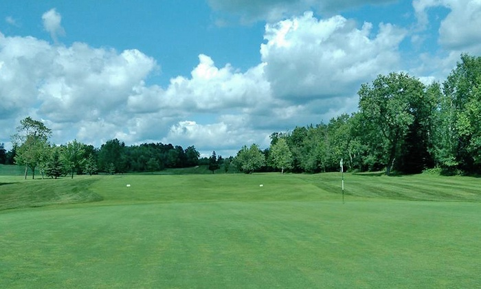Lester Park - Duluth: $49 for Round of Golf with Cart for Two, Plus Two Buckets of Range Balls at Lester Park ($98 Value)