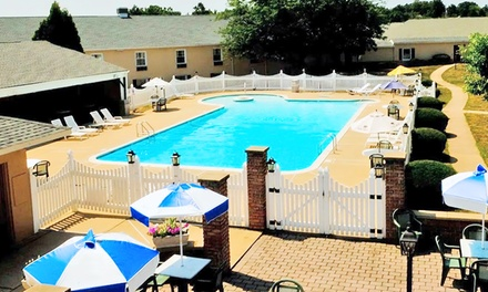 Stay at The Inn at Reading in Wyomissing, PA. Dates into November.