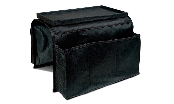Organizador para sof con bandeja groupon goods - Organizador mandos a distancia ...