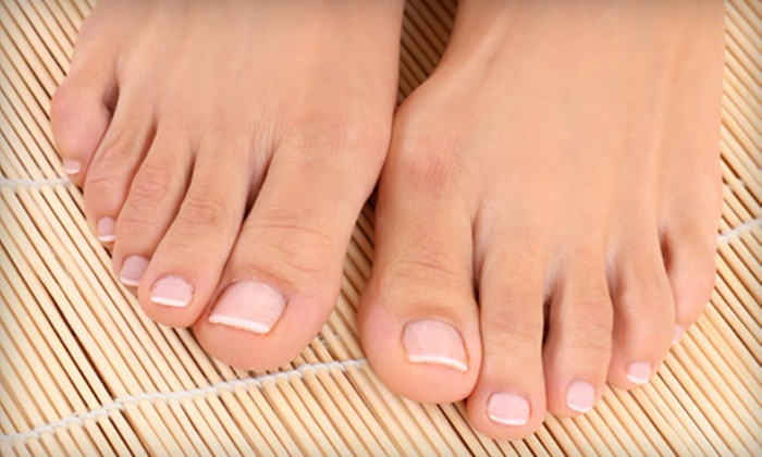 A & E and NYS Surgery Center - De Witt: Three Nail Fungus-Removal Treatments for Five or 10 Fingers or Toes at A & E and NYS Surgery Center (Up to 83% Off)
