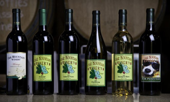 Oak Mountain Winery - Temecula: $55 for a Wine-Tasting and Food-Pairing Class for Two at Oak Mountain Winery in Temecula ($180 Value)