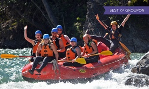 Canadian Rockies Rafting: Kananaskis or Bow River Rafting Trip for One, Two, or Four from Canadian Rockies Adventure Centre (Up to 55% Off)