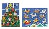 Melissa & Doug Santa and Tree Chunky Puzzles: Melissa & Doug Santa and Tree Chunky Puzzles
