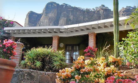 5-Night Stay for Two in a Standard Room with a Culinary Package at La Villa Bonita Mexican Culinary Hotel in Tepoztlán