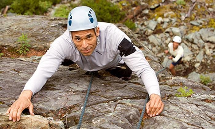 Calgary Climbing Centre - Elbow Park: $99 for a Full-Day Outdoor Beginners' Rock-Climbing Course from Calgary Climbing Centre ($208.95 Value)