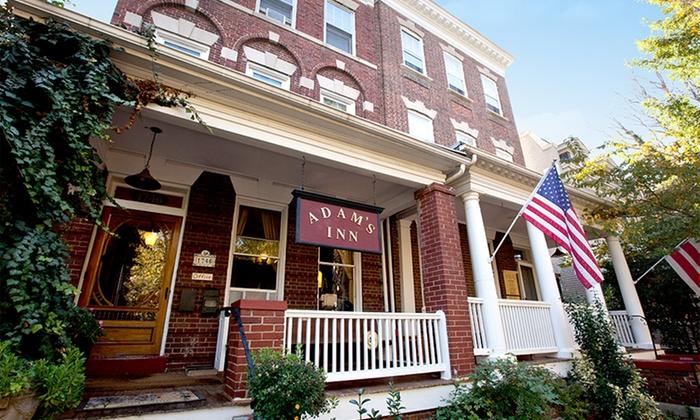 Adam's Inn Bed & Breakfast - Washington, DC: Stay at Adam's Inn Bed & Breakfast in Washington DC; Dates Available into November