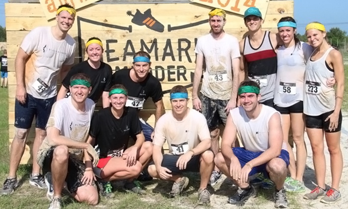 Seamark Mudder - Seamark Ranch: Registration for One, Two, or Four to the Seamark Mudder (Up to 58% Off)