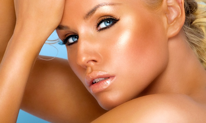Glow Organic Airbrush Tanning Boutique - Brentwood: One or Three Full-Body Organic Airbrush Glows at Glow Organic Airbrush Tanning Boutique (Up to 56% Off)