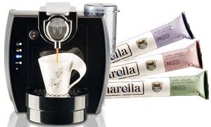 beanarella: Wertgutschein über 10 € oder 100 € anrechenbar auf Kaffeekapseln oder Kaffeemaschinen im beanarella Online-Shop