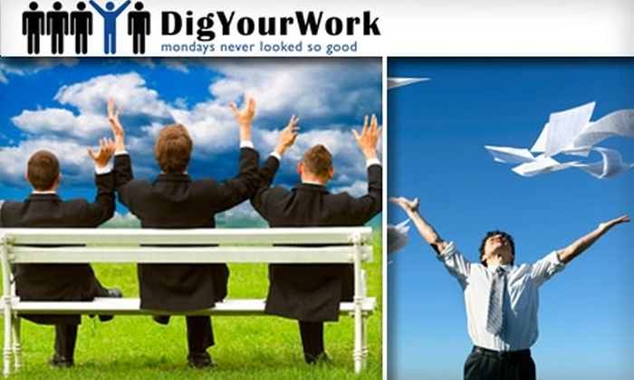 """DigYourWork - Highland: $29 Enrollment to """"Land the Job You Want Seminar"""" from DigYourWork on Jan. 23 ($79 Value)"""