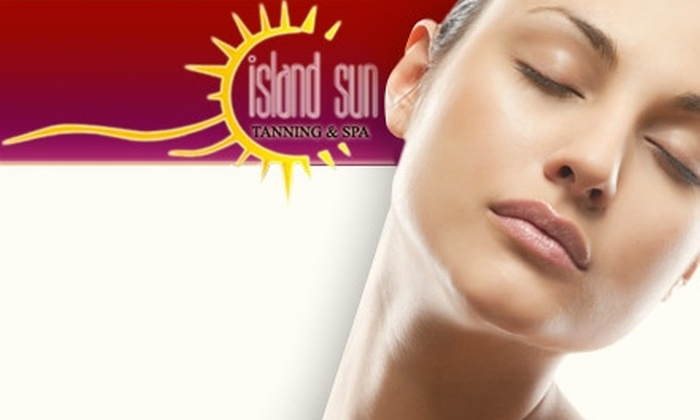 Island Sun - New Orleans: $30 for $75 Worth of Tanning & Skincare at Island Sun