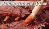 James Brown's Place - Culver-Winton-Main: $7 for $15 Worth of Diner Fare at James Brown's Place
