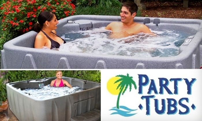 Party Tubs - Omaha: Half Off a Hot-Tub Rental from Party Tubs. Choose from Two Options.