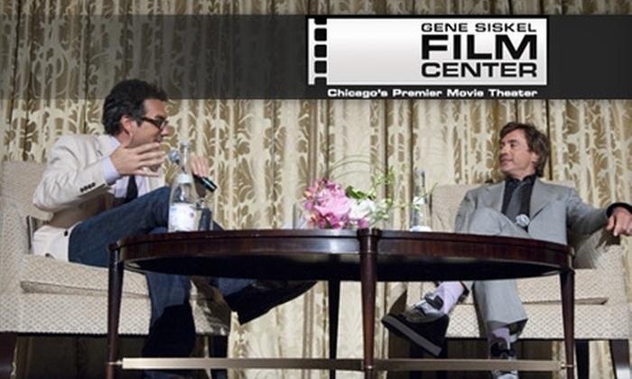Gene Siskel Film Center - Loop: One-Year Membership to the Gene Siskel Film Center. Choose Between Two Options.