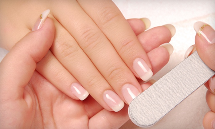 Allure Day Spa & Salon - West Caldwell: $25 for Manicure and Allure Pedicure at Allure Day Spa & Salon in West Caldwell ($50 Value)