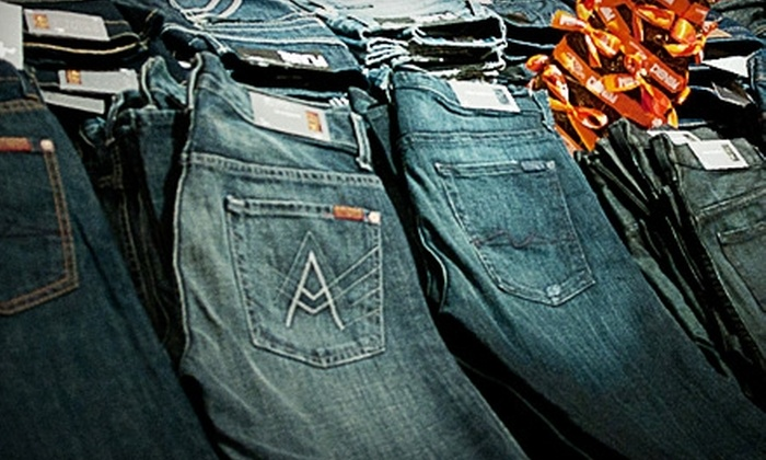 Pure Denim - Upper Mesa Hills: $49 for $100 Worth of Designer Jeans and Other Clothing at Pure Denim