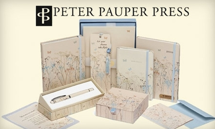 Peter Pauper Press: $10 for $20 Worth of Books, Stationery, and Gifts from Peter Pauper Press