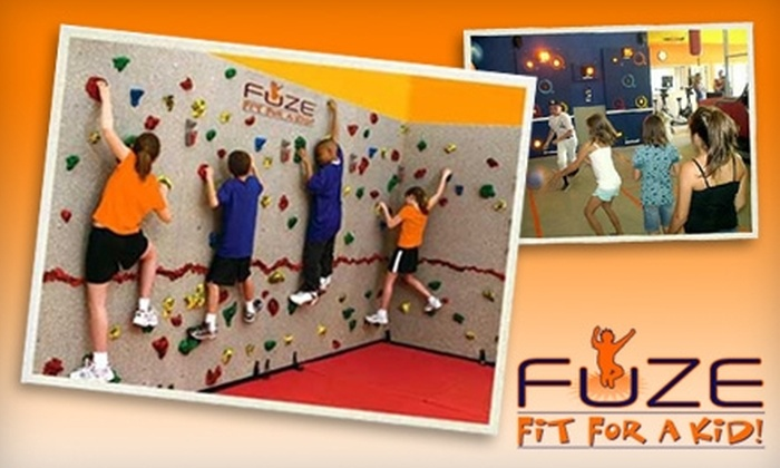 FUZE Fit For A Kid! - San Jose: $120 for a 10-Visit Pass to FUZE Fit For A Kid! ($238 Value)