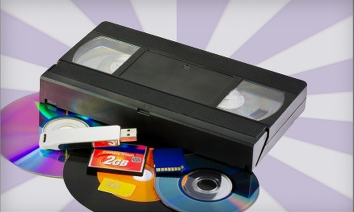 Life's Sweet - Harrisburg / Lancaster: $12 for Two Hours of Video-to-DVD Transfer at Life's Sweet ($29.99 Value)