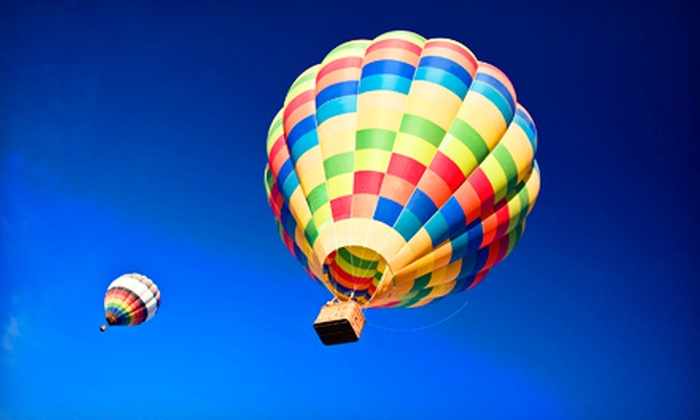 Vegas Balloon Rides - Paradise: Weekday or Weekend Sunrise Hot Air Balloon Ride for Two from Vegas Balloon Rides (Up to 55% Off)