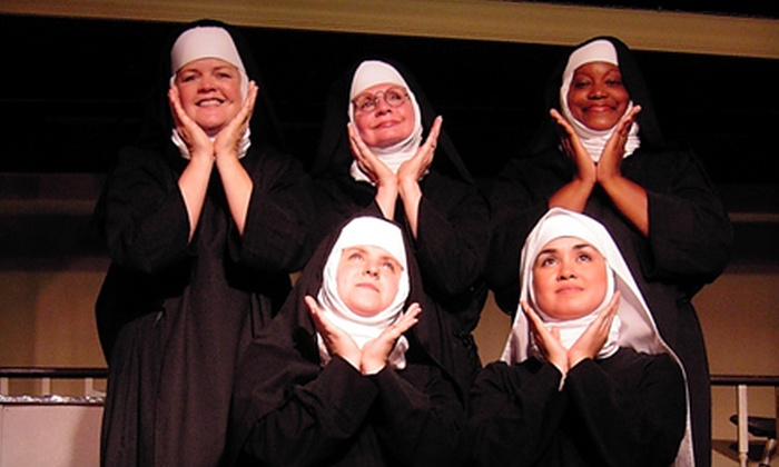 "Lazy Susan Dinner Theatre - Lorton: $21 for Dinner-Theater Outing to Performance of ""Nunsense"" at Lazy Susan Dinner Theatre in Lorton (Up to $44.95 Value)"