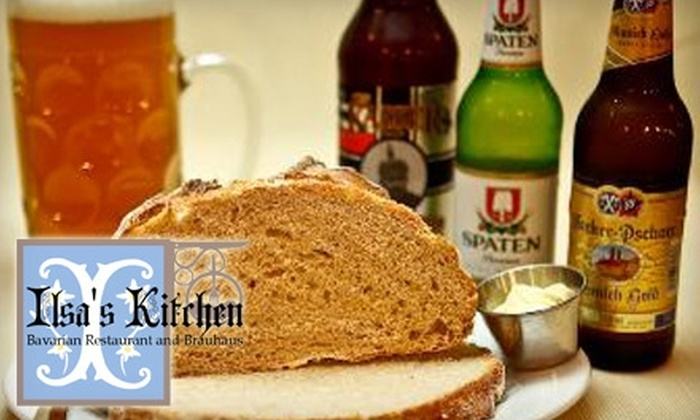 Ilsa's Kitchen - Travis Settlement: $12 for $25 Worth of Authentic Bavarian Fare at Ilsa's Kitchen in Spicewood