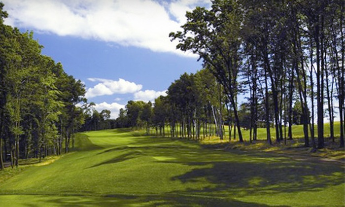 The Golf Club at Oxford Greens, Lyman Orchards Golf Club, and Wintonbury Hills Golf Course  - Multiple Locations: $112 for Round of Golf and Cart Rental on Each of Three Courses (Up to $224 Value)