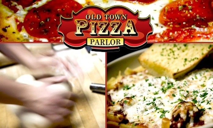 Old Town Pizza Parlor - West Old Town: $10 for $20 Worth of Slate-Oven Pizza, Pasta, and Drinks at Old Town Pizza Parlor