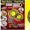 Turbo Snake Drain Hair Removal Tool Set (3-Piece)