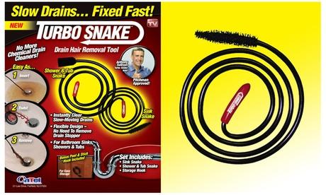 Turbo Snake Drain Hair Removal Tool Set (3-Piece) 38198914-3fc5-11e7-9109-00259069d7cc