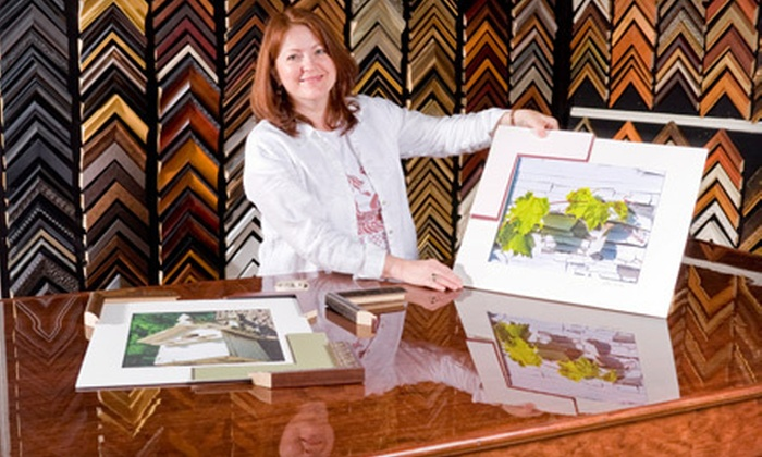 Frame Shop Art Gallery & Gifts - Springfield: Custom Framing or Bulk Photo Scanning at Frame Shop Art Gallery & Gifts (Up to 58% Off). Three Options Available.