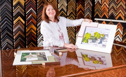 $60 Worth of Custom-Framing Services - Frame Shop Art Gallery & Gifts in Holland